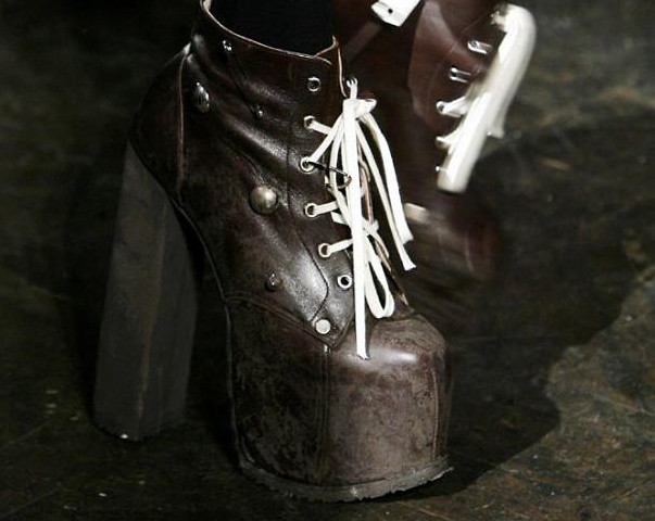 Charles Anastase FW 2009 Dungeon Boots