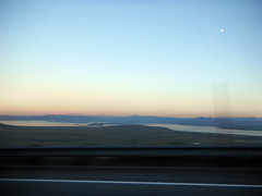 A shot of Mono Lake as we're headed home
