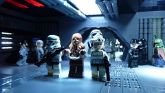 Death Star plan (Legoagogo) Tags: star starwars lego darth stormtrooper boba wars vader chewie deathstar fett moc afol