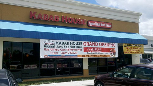 the kabab house!