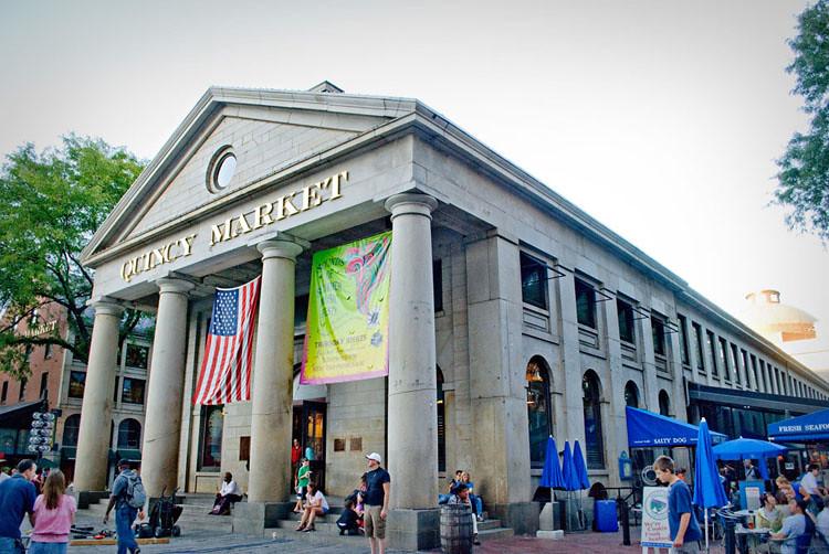 Quincy Market - Boston, MA Aug 2010  BLOG