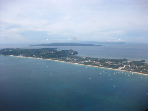 Boracay from an ATR 72-500