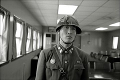 kimology #14 (quixotic54) Tags: leica film 35mm soldier fuji north korea summicron 400 neopan mp coolscan asph dmz northkorea 9000 xtol dprk leicamp autaut leicasummicron35mmf20asph nikonsupercoolscan9000ed kimology