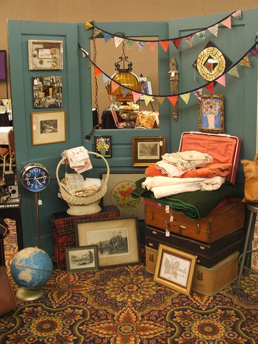 Vintage Show Booth Display Doors