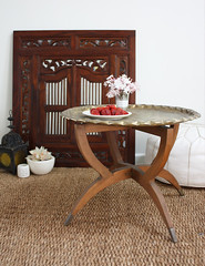 moroccantable1 (the happy home) Tags: pouffe tray lantern traytable moroccantable interiorstyling
