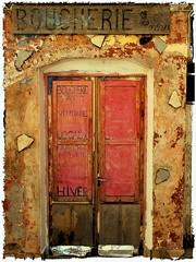 Boucherie d'Art (jpmiss) Tags: france colors photoshop vintage french riviera village experiment manipulation olympus cote zuiko dazur e510 jpmiss