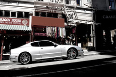 Gransport @ China Town |Explored| (ThomasGroenhuijsen) Tags: china car town nikon san francisco thomas sigma 1770 maserati gransport d90 28045 groenhuijsen