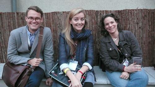 Martin, Saskia and Nancy