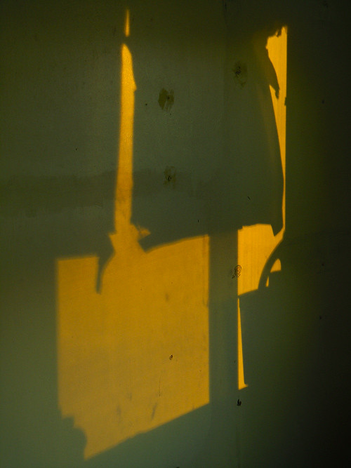 abstract shadow, Kasaan, Alaska