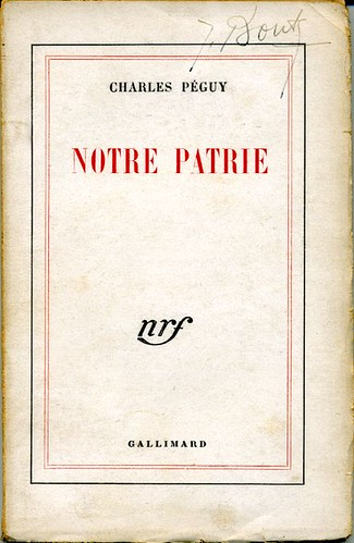 Notre Patrie, by Charles PEGUY
