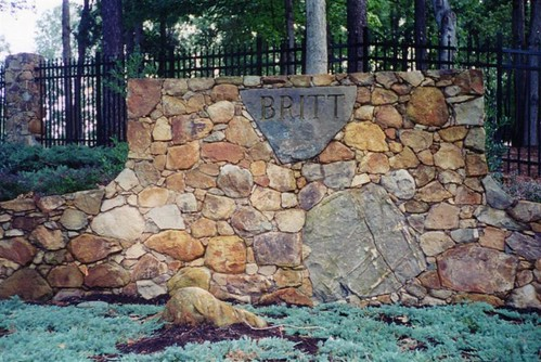 Images of large stone masonry projects for large homes and estates