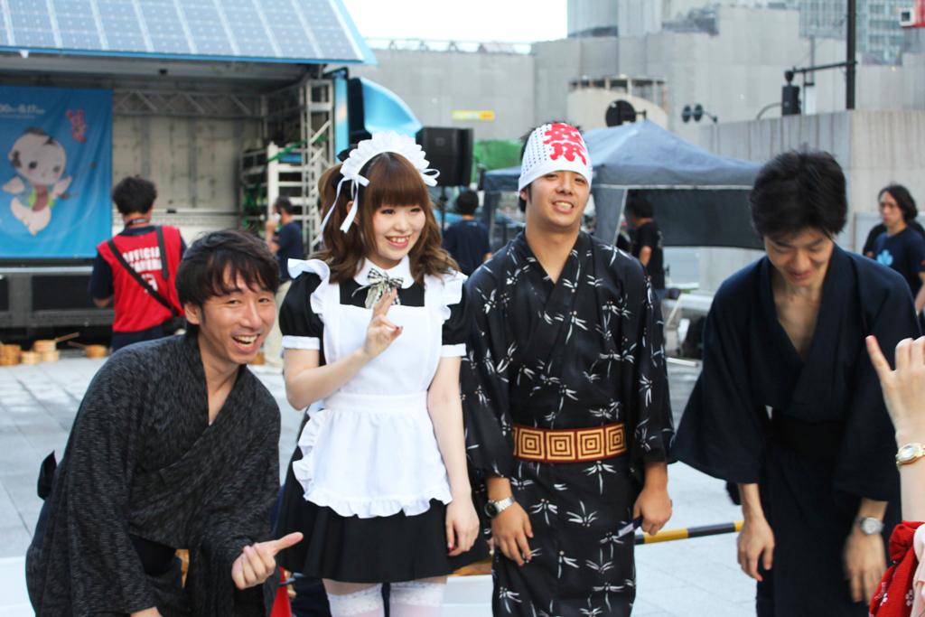 Uchimizu event in Marunouchi (1)