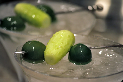 cukes in martinis