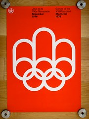 1976 Montral Olympics Poster (AisleOne) Tags: poster montreal olympics 1976 internationaltypographicstyle georgeshuel pierreyvespelletier