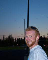 Mosquito Swarm (musubk) Tags: field alaska ak mosquito fairbanks swarm mosquitoes creamersfield creamers
