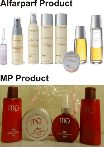 Yen Hair Make Up Used Products