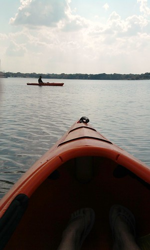 Kayaking at White Rock Lake