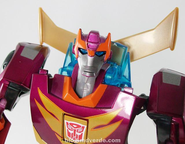 Transformers Rodimus Animated Deluxe Takara - modo robot