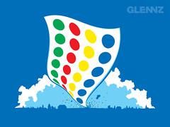Twister (Glennz Tees) Tags: art nerd fashion illustration design funny geek drawing humor cartoon tshirt illustrator draw popculture tee vector ai apparel adobeillustrator glenz glennjones glenjones glennz gleenz glennnz