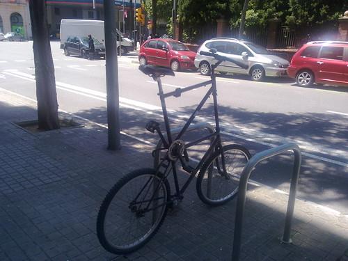 Bicicleta de altura