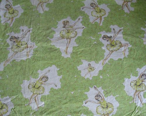 Vintage Ballerina Sheet