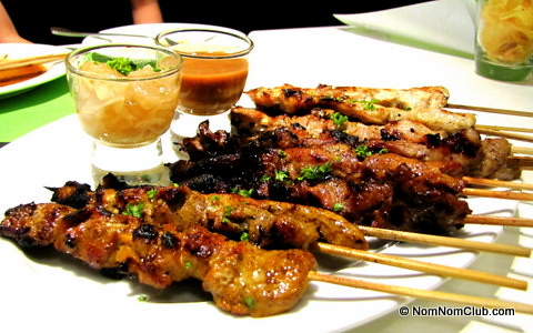 Grilled Sticks Platter