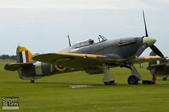 G-BKTH - Z7015 - CCF 41H 4013 - Private - Hawker Sea Hurricane Mk1B - Duxford - 100905 - Steven Gray - IMG_5937