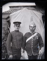 Mystery man (and medal) and son, both in uniform