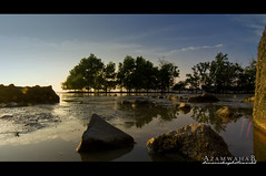 Tanjung Ketapang, Muar (4th Syawal) (azamwahab) Tags: sunset muar tanjung maharani tokina1116