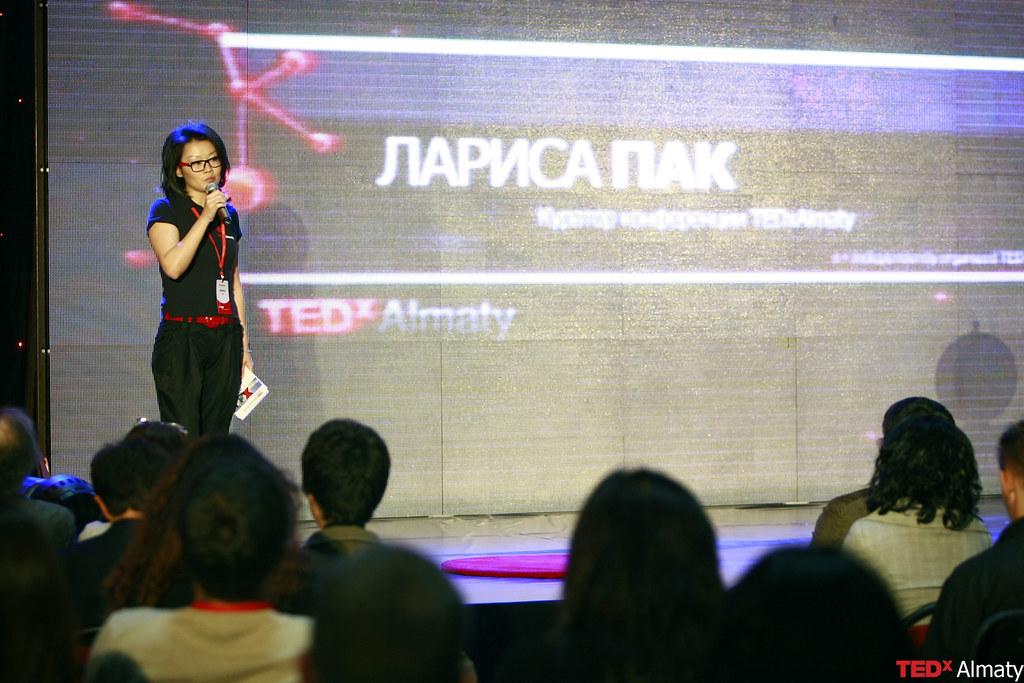 TEDxAlmaty Лариса Пак