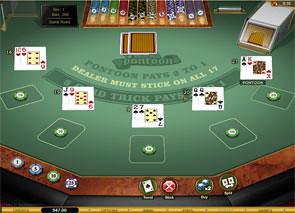 Pontoon Blackjack Gold Series