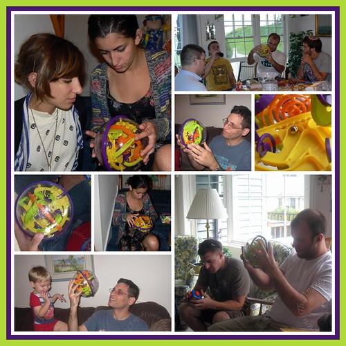 Family Perplexus Playing