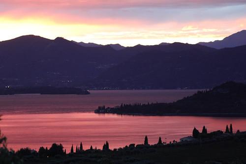 lago rosa a san vigilio