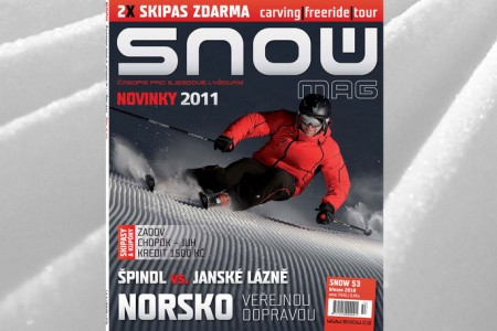 SNOW 53 + 2x SKIPAS ZDARMA