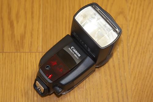 キャノン(CANON)スピードライト 580EX II