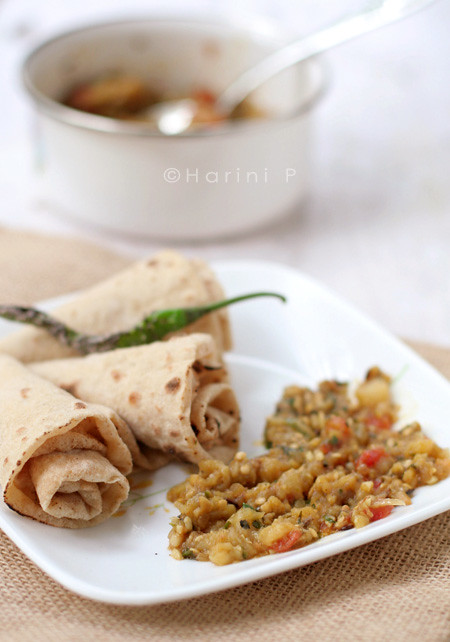 Baingan ka Bharta with an Italian twist!