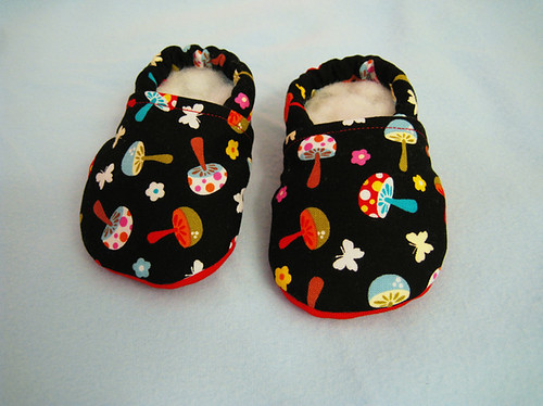 cloth baby shoes by Kalinekin