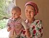 Mother and Child (**El-Len**) Tags: pink portrait woman scarf child mother tajikistan ethnic centralasia uzbek fav10 thegalleryoffinephotography memorycornerportraits