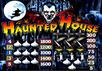 free Haunted House slot mini symbol