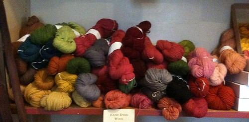 Natural Dyed Yarn Options