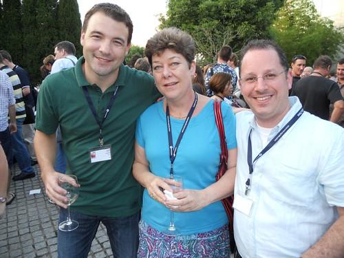 Jeff Utecht, Julie Lindsay and Darren Kuropatwa