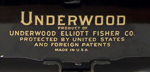 Underwood Elliott Fisher Co.