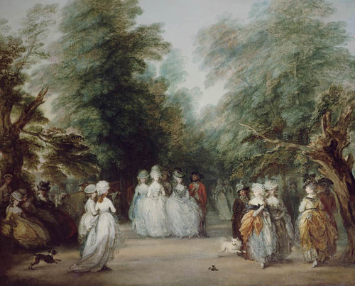The Mall in St. James's Park, Thomas Gainsborough, c. 1783