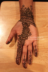 Eid'2010  NJ's Unique Henna Art (NJ's Unique Henna Art) Tags: toronto flower floral unique eid band peacock professional scarborough swirl henna mehendi simple gta paisley mehndi services appointment intricate mehandi