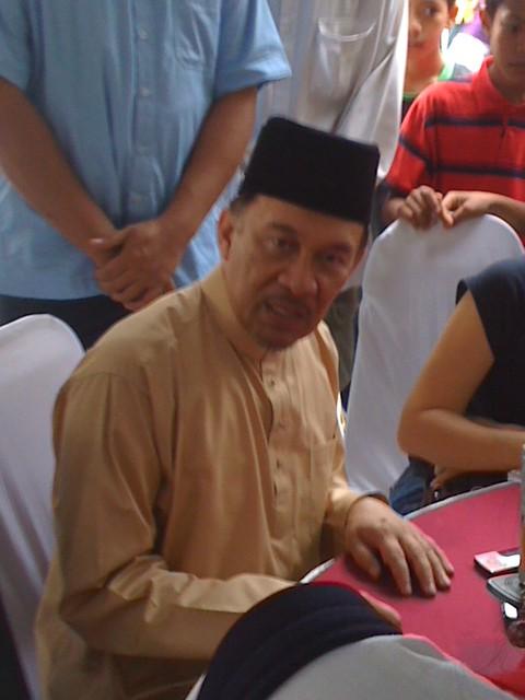 Jamuan Aidil Fitri DS Anwar Ibrahim