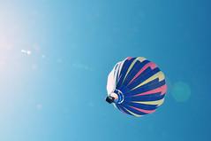 In the Sunshine (Jenn (ovaunda)) Tags: sky sun utah nikon hotairballoon photooftheday cedarcity d90 18105mm jennovaunda ovaunda nikonnikkorafsdx18105mmf3556gedvr cedarcityskyfest2010 september212010 onedailyshot onedailyshotcom
