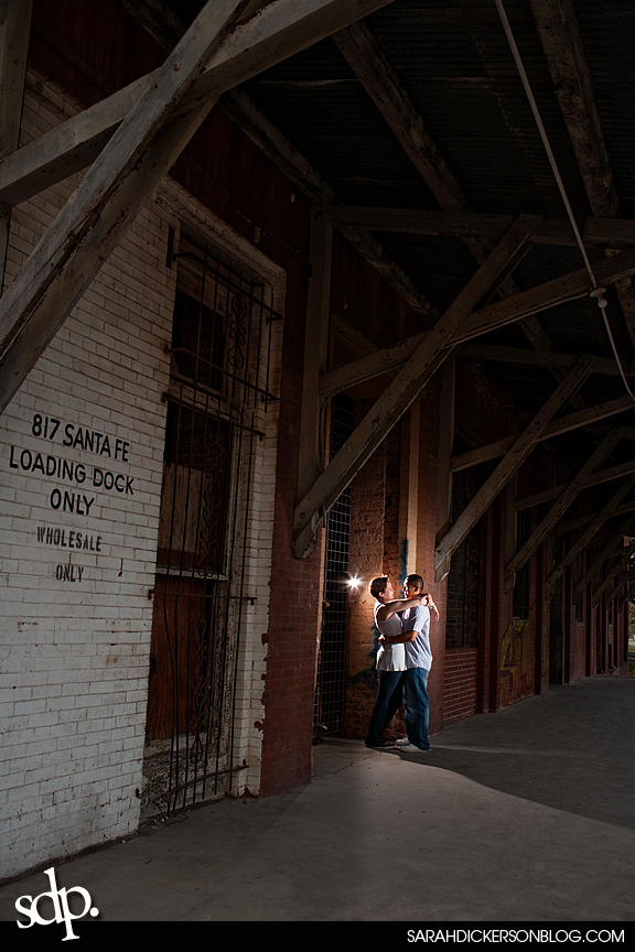 West Bottoms Kansas City engagement photos