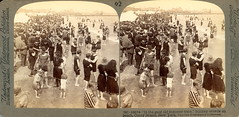 Coney Island Beach Crowd, New York =view (depthandtime) Tags: ocean old original holiday newyork beach swimming swim vintage coneyisland found stereoscopic 3d suits view antique crowd atlantic suit stereo card stereoview bathing stereograph foundphoto eastcoast crowded 1900s stereographic turnofthecentury stereocard parallelview underwoodunderwood stereoscopeview