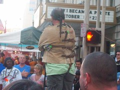 Street Performer - Straight Jacket Escape (Coasterville) Tags: oktoberfest zinzinnati