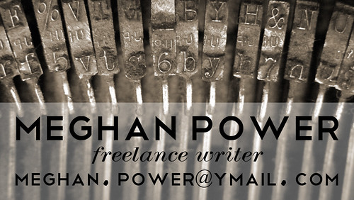 business card for Meghan Power